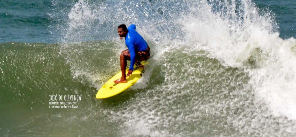 Jojó de Olivença Bi-Campeão Brasileiro de Surf