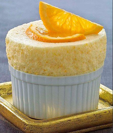suflê laranja