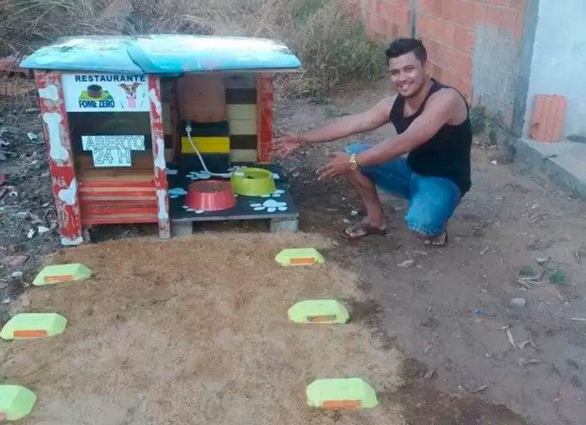 Projeto que viabiliza alimento e água