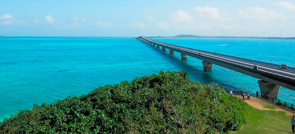 Ponte japonesa de Ikema Ohashi