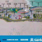 Novo Projeto para o Quebra-Mar de Santos