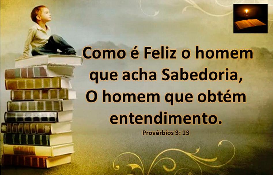 Espírito de Deus em Provérbios 3:13