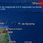 Terremoto próximo de Fernando de Noronha