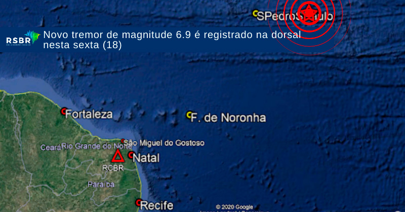 Terremoto de 6,9 em Fernando de Noronha