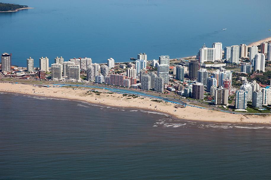 Punta del Este a Pérola do Uruguai