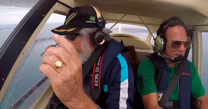 Iphone voador é recuperado em Praia do Peró?