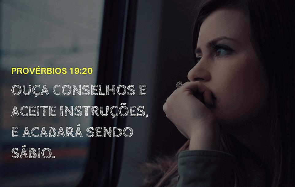 Espírito de Deus em Provérbios 19:20