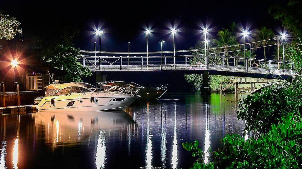 Ponte liga Barra do Una e Juquehy em São Sebastião